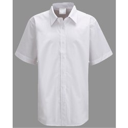 Summer Cotton White School Shirts