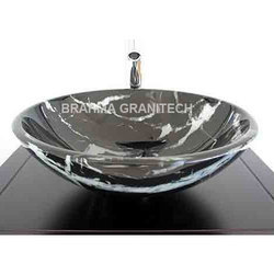Black Granite Vessel Sink