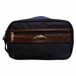 Poly Black Pouch Wrist Bag
