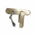 Dorset Brass Door Lock, Finish Type: Chrome