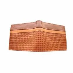 PU Leather Brown Men Card and Money Wallet