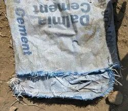 Used Cement  kutting Bags
