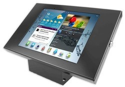 Desktop Pos Tablet Kiosks Display Stand Secure Lockable