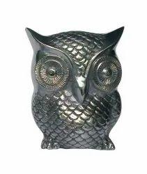 Aluminium Owl Sculpture