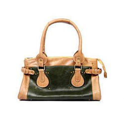 d5aaf4c1a4 Resegno Brown And Black Leather Bag