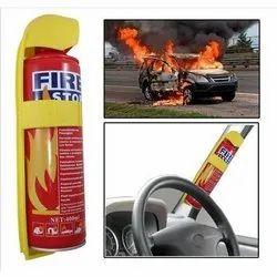 Mild Steel Mechanical Foam (Afff) Based Fire Stop Car Fire Extinguisher, Capacity: 400 ml
