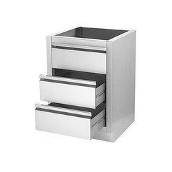 Stainless Steel Storage Drawer Cabinet