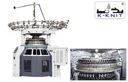 K-KNIT High Speed Circular Knitting Machine - Double Jersey 3 Way / 5 Way Jacquard : KK-DE