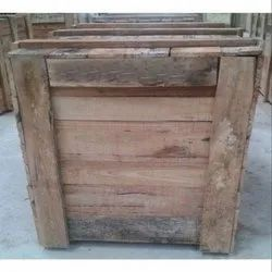 Edible & Non-Edible Termite Resistant Pine Wood Packaging Box, for Shipping, Box Capacity: 401-600 Kg