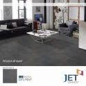 Jet Granito Matt Nilo Grey Polished Glazed Vitrified Tile