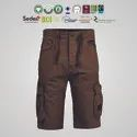 Fair Trade Organic Cotton Mens Knee Length Shorts