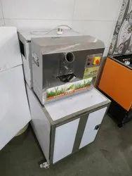 SC-02 Sugarcane Juice Machine With Dustbin