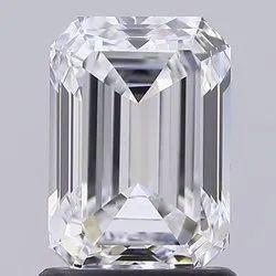 Emerald Diamond 1.54ct D VVS1 CVD TYPE2A IGI Certified