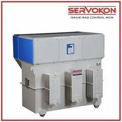 Three Phase 500 Kva Oil Cooled Servo Stabilizers