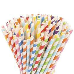 Colored Eco-Friendly Paper Straw