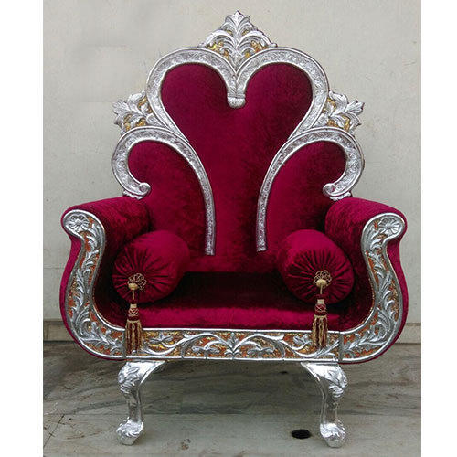Wooden Maharaja Chair Rs 40000 Piece Mahalaxmi Deying