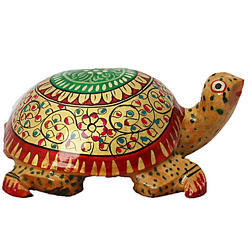 Wooden Tortoise Walking Wp052