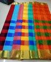 Safa Sarees Printed Uppada Pattu Saree, 6.3 m (with blouse piece)