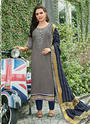 Regular Cotton Straight Suits With Silk Dupatta