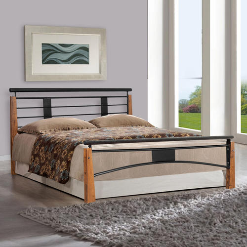 60e602dc171b Black Wrought Iron Bedroom Bed