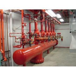 Red Fire Protection System