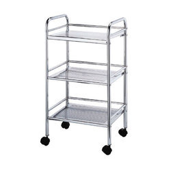 3 Layer Mild Steel Storage Trolley