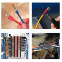 Heat Shrinkable Sleeves Tubing PVC Shrink Tube  -560Pcs
