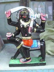 Black Marble Kal Bharav Statue
