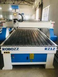 ROBOZZ 3Kw CNC Wood Cutting Machine, Model Name/Number: RZ12