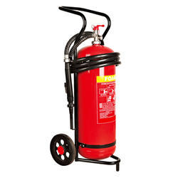 Trolly Mounted Fire Extinguishers