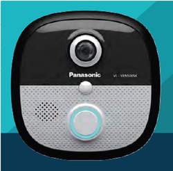 Stainless steel Black Panasonic Smart Door Bell VL-VBN500sx