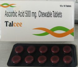 Talcee Acorbic Acid (Vitamin C) Chewable Tablets