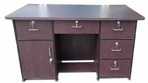 Office Executive Table With Multi Drawer Storage E