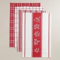 Yarn Dyed Check Stripe  Kitchen Towels