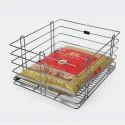 Stainless Steel Grain Trolley Basket, Depth : 20 Inch