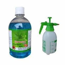 Aloevera, Neem, Tulsi and Alcohol Based Hand Sanitizer - 1.5 ltr