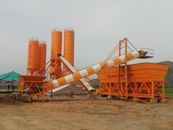 High Capacity Concrete Batching Plant