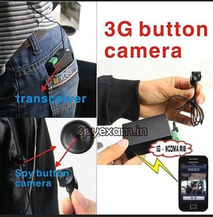 f451106a4a1 Spy Wireless 3G Button Camera & Spy Wireless Bluetooth Banyan With ...