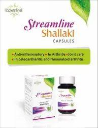 Streamline Shallaki Capsules, Prescription, Treatment: Relief From Arthritis Pain