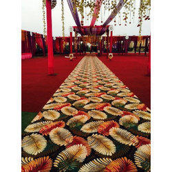 Cotton Also Available In Jute Printed Non Woven Designer Carpets, Size: 10' 6