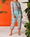 Embroidery Long Jumpsuit