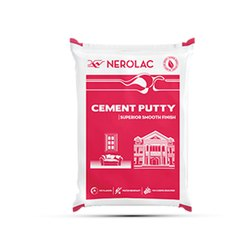 White Nerolac Cement Premium Wall Putty, Packaging Type: Bag
