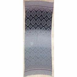 Viscose Poly/Acrylic Mohair Jacquard Shawls