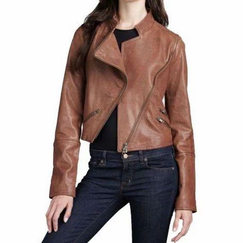 Women''s Rust Biker Jacket
