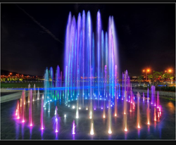 Violet Garden Fountain, Application : Parks, Hotels