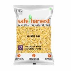 Safe Harvest Chana Dal, Packaging Size: 500gm, Packaging Type: Packets