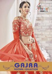 Semi-Stitched Bollywood Designer Lehenga