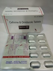Cefixime And Ornidazole Tablets