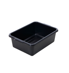 Black Rectangular Plastic Containers, Capacity: 5 Kg