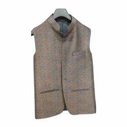 Party Wear Men Half Nehru Jackets, Size: S-XL